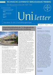 Uniletter - Qualitätspakt Lehre
