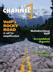 CV 0307.indd - ChannelVision Magazine