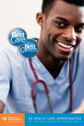 General Recruitment Brochure - VA Careers
