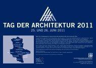 2011 - Architekturtourismus Sachsen-Anhalt