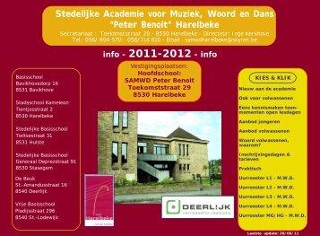 Stedelijke Academie voor Muziek, Woord en Dans