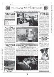 POZVÁNKA - Mariánskolázeňské listy