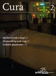 Spoelen terwijl u slaapt - Jeroen Bosch Ziekenhuis