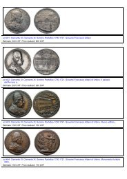 Lot 401: Clemente XI. Clemente XI. Sommo Pontefice 1700-1721 ...