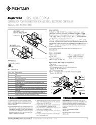 JBS-100-ECP-A - Pentair