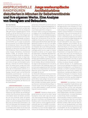 anspruchsvolle randfiguren - Florian Fischer, Sebastian Multerer ...