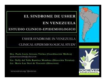 EL SINDROME DE USHER EN VENEZUELA - Deafblind International