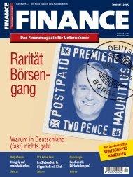 Finance - Februar 2005 - Klein & Coll.