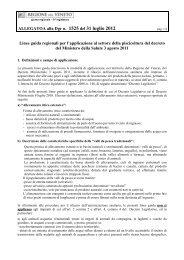 ALLEGATOA alla Dgr n. 1525 del 31 luglio 2012 Linee guida ...
