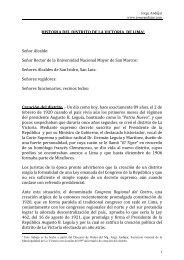 Historia del Distrito de la Victoria - jorge andujar