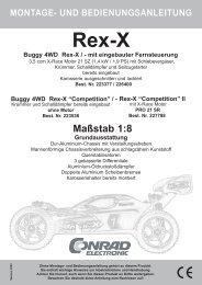 """REX-X """"Competition"""" - Produktinfo.conrad.com"""