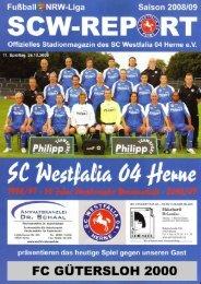 Der SCW-Kader 2008/09 - scwestfalia04herne.de