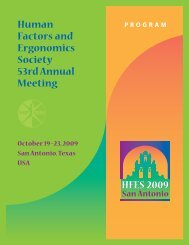 09 HFES AM Program,r7.qxd - Human Factors and Ergonomics ...