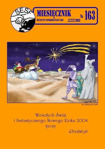 Miesięcznik nr. 163 - Śląski Klub Fantastyki