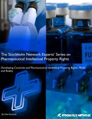 Series on Pharmaceutical Intellectual Property Rights