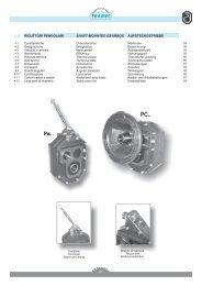 Datenblatt Aufsteckgetriebe - Tramec Getriebe GmbH