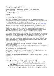 Verslag bestuursvergadering 21/08/2012 Aanwezig: Hermans M ...