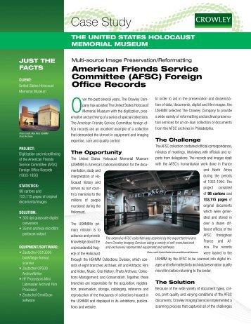 Download Case Study PDF - The Crowley Company