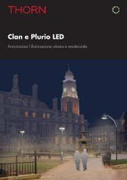 Clan and Plurio LED Brochure [PDF/7MB] - THORN Lighting