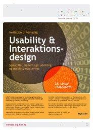 Usability & Interaktions- design - CFIR