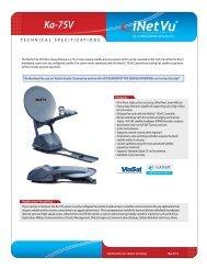 iNetVu-75 spec sheet
