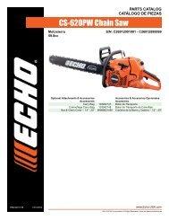 CS-620PW Chain Saw