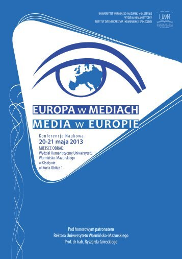 EUROPA w MEDIACH MEDIA w EUROPIE - TVP