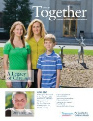 A Legacy of Care - Nemours