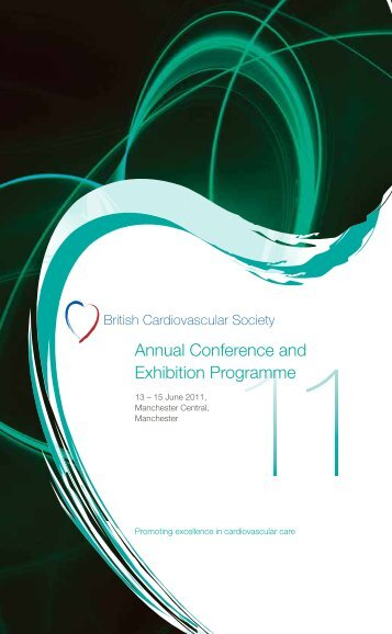 Annual Conference and Exhibition Programme - British ...