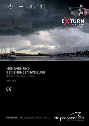 Montage- und BedienungsanWeisung - Marinno