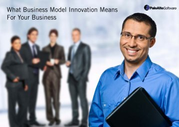 What Business Model Innovation Means For Your Business
