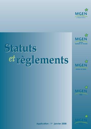 Statuts - MGEN
