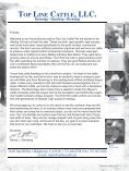 TOP LINE CATTLE, LLC. - Angus Journal - Page 3