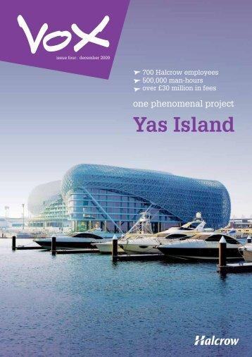Yas Island - Halcrow
