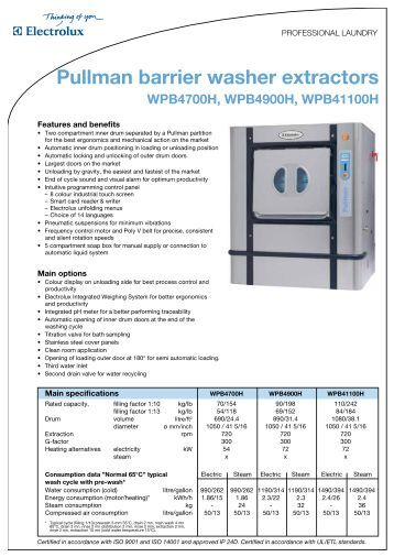 Barrier Washer Extractors Usa ~ D hooge open pocket washer extractors commercial laundry
