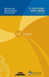 A nap 3. ciclo lengua 18 enero.p65 - Ministerio de Educación