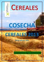 a julio de 2013 - Cooperativas Agro-alimentarias
