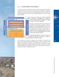 Le traitement des risques, le suivi et la révision - Ministère de la ...