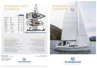 Katalog Sunbeam 24.2 - Sunbeam Schöchl Yachtbau