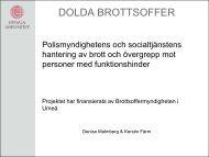 DOLDA BROTTSOFFER