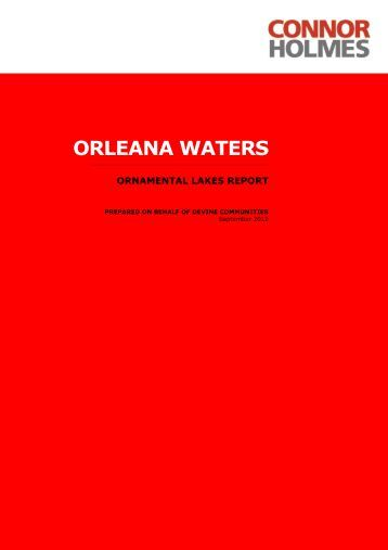 ORLEANA WATERS - Town of Gawler