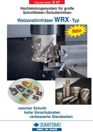 WRXWendeplatten Walzenstirnfräser20 - MAS Tools & Engineering