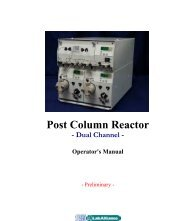 Post Column Reactor - Cromlab