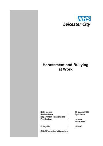 Bullying harassment reporting form for Bullying and harassment policy template
