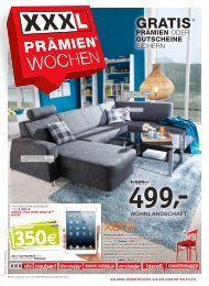 330€ 330€ 350€ - XXXL Möbelhäuser