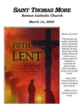 03-13-05 - St. Thomas More Church