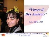 """Istituto di Istruzione Superiore """"Luigi Des Ambrois"""" - Programma LLP"""