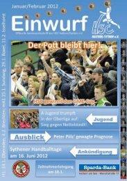 HSC Magazin 2012-01-14 - HSC Haltern-Sythen 1992 e. V.