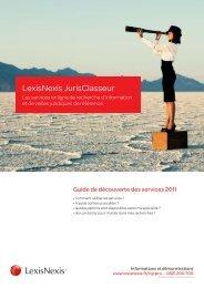 Guide de découverte des services 2011 - Université Paris-Sud 11