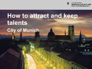 How to attract and keep talents